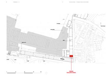 L'ubicazione del padiglione del Regno del Marocco alla Biennale di Venezia.
