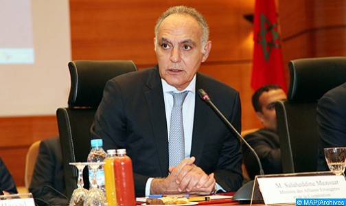 Il Ministro degli Affari Esteri e della Cooperazione, Salaheddine Mezouar