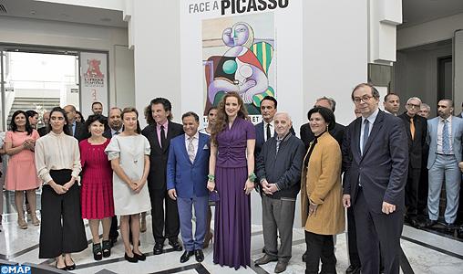 SAR-la-Princesse-Lalla-Salma-inaugure-lu2019exposition-Face-à-Picasso-M2