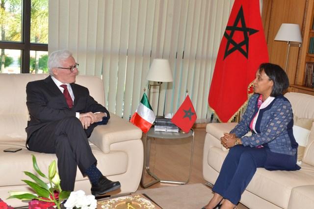delegazione del Senato italiano in visita in Marocco 2017