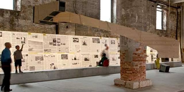 Immagine sintetica della biennale di Venezia 2014