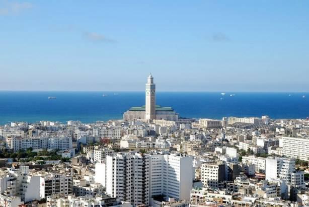 Panorama della città di Casablanca