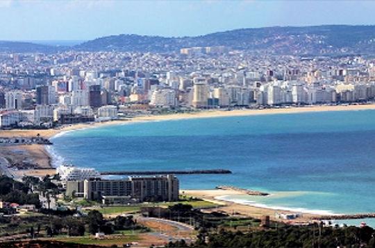 Panorama della città di Tangeri