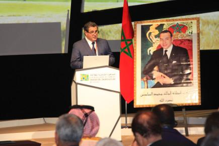 il ministro dell'Agricoltura e della Pesca marittima, Aziz Akhannouch