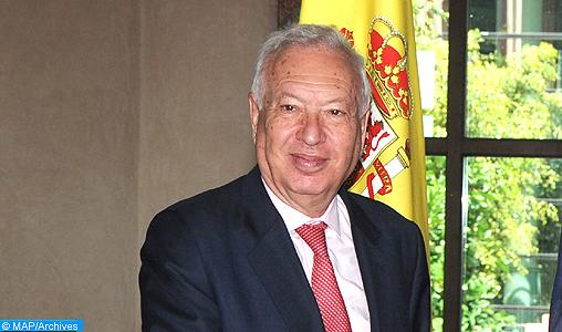Il Ministro degli affari esteri e della cooperazione Salaheddine Mezouar, in un incontro con il suo omologo spagnolo José Manuel Garcia-Margallo