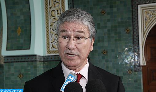 Il Ministro della Sanità del Regno del Marocco Houssein Louardi