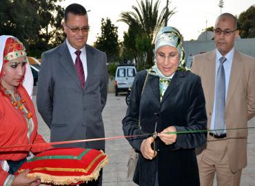 La ministra della Solidarietà, della Donna, della famiglia e dello Sviluppo sociale, Bassima Hakkaoui