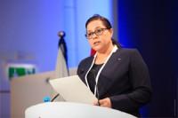 La Presidente Mme Miriem Bensaleh Chaqroun