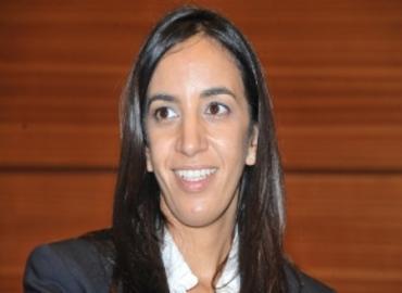 La Ministra delegata del Ministro degli Affari Esteri e della Cooperazione del Marocco, Mbarka Bouaida,