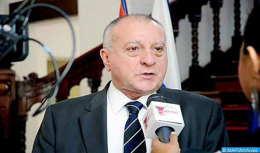Il direttore generale dell'Osservatorio di studi geopolitici di Parigi, Charles Saint-Prot