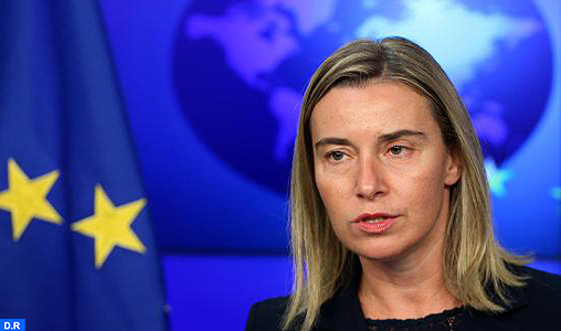 Il capo della diplomazia dell'Unione europea (UE) signora Federica Mogherini