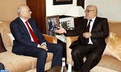 Abdelilah Benkirane riceve Masood Ahmed, direttore del dipartimento per il Nord Africa e l'Asia centrale presso il FMI.