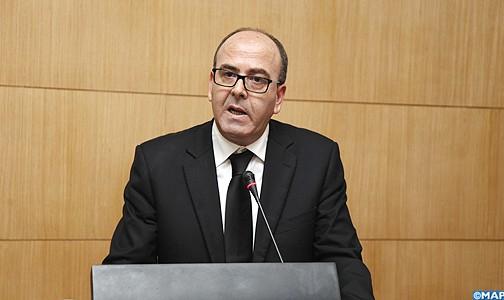 Il Presidente della Camera dei Consiglieri, Abdelhakim Benchamach