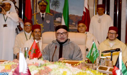 SM-le-Roi-prononce-un-discours-au-Sommet-Maroc-Pays-du-Golfe-M