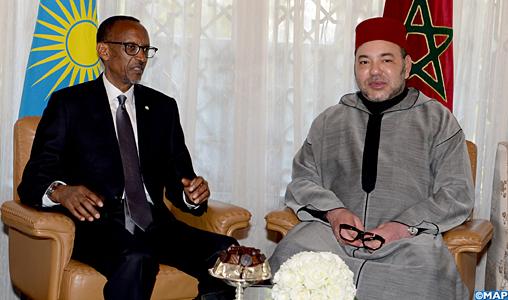 Entretiens-SM-le-Roi-et-le-Président-Rwandais