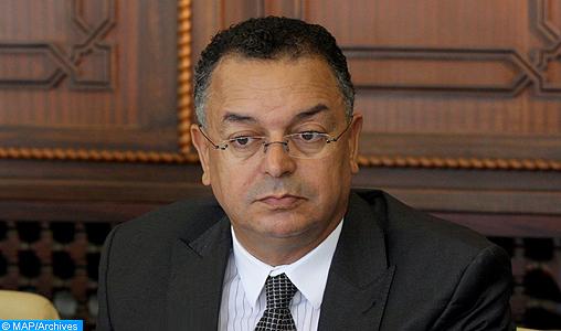 Il ministro del Turismo del Marocco M. Lahcen Haddad