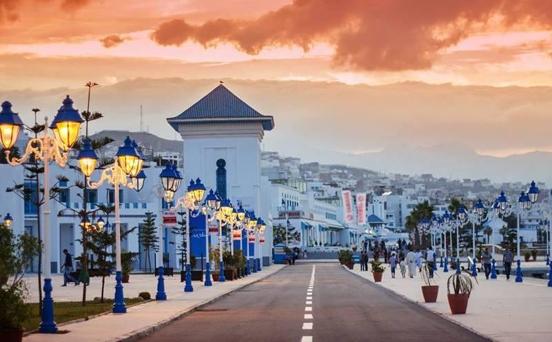 Panoramica della città di Tangeri Source: http://www.marocexcursions.net/