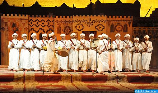 Festival-Ahwach marocco