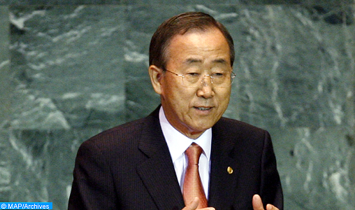 UN Secretary-General addresses the 64th session of the General Assembly.