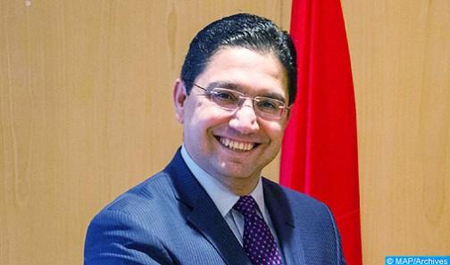 Il Ministro delegato presso il Ministro degli affari esteri e della cooperazione, M. Nasser Bourita