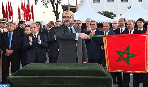 SM-le-Roi-lance-le-projet-dextension-du-tramway-de-Rabat-Salé-M