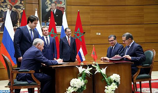 Signature-reunion-de-haut-niveau-maroco-russe-M