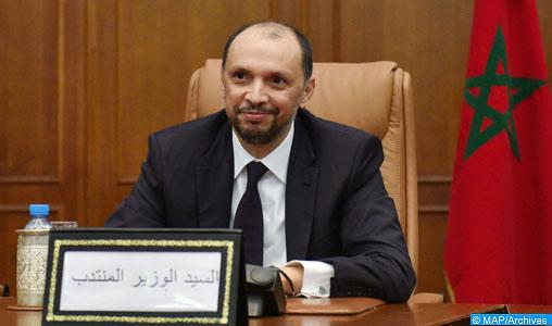 Le ministre délégué chargé de la Coopération africaine, Moh