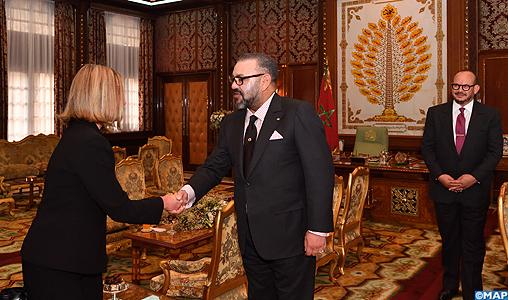 SM-le-Roi-la-Haute-représentante-de-lUE-pour-les-affaires-étrangères-et-la-politique-de-sécurité-Federica-Mogherini-M