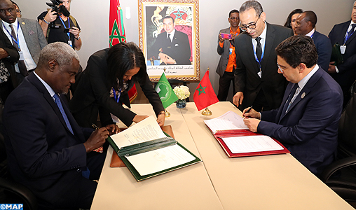 Marrakech_migartion-Signature-accord-siège-bourita-Moussa-Faki_M