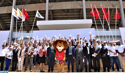 Lancement de la Caravane mobile pour la promotion des Jeux Africains de Rabat 2019 _SK