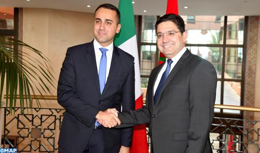 Bourita-entretiens-ministre-AE-italien-M.-Luigi-di-Maio-M2