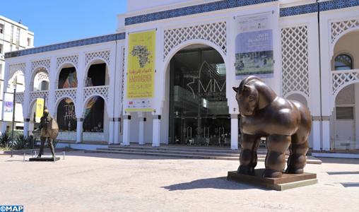 Rabat_Statue-du-Cheval-Musée-Mohammed-VI_M
