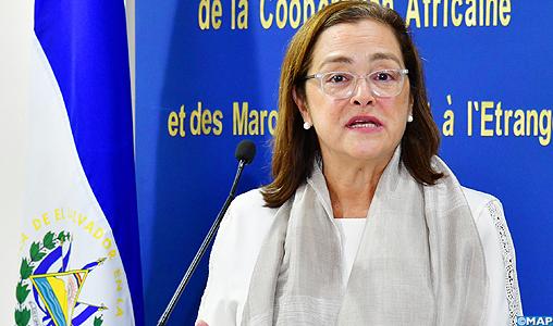 La ministre des Relations internationales du Salvador, Alexandra