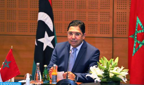 M. Nasser Bourita intervenant lors du dialogue libyen à Bouznika_KC