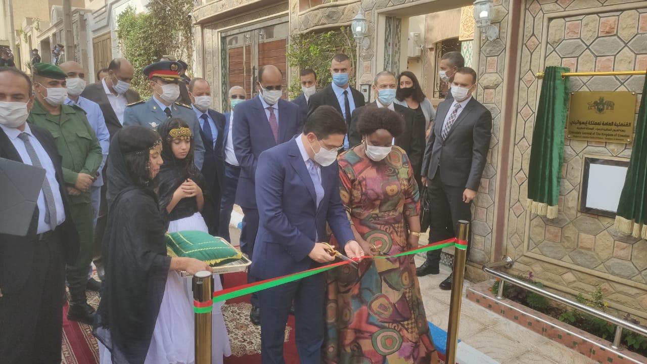 Estwani Marocco Sahara marocchino inaugurazione consolato