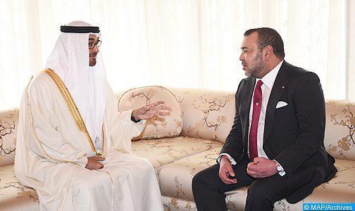 SM il Re del Marocco e SA il Principe eriditario di Abu Dhabi