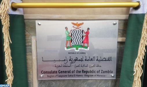 consolato Zambia marocco sahara marocchino