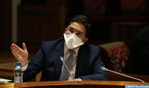 Ministro degli Esteri del Marocco Bourita