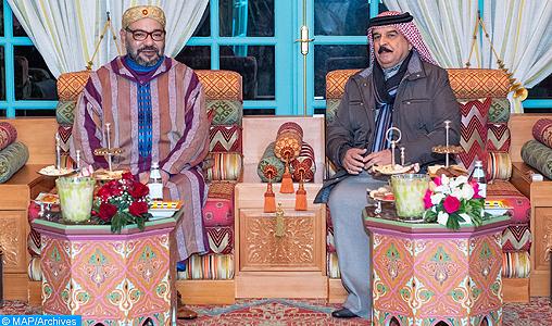 SM il Re del Marocco e SM il Re del Bahrein