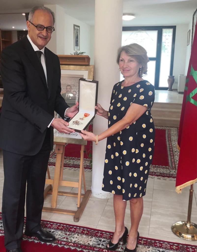 Wissam Reale all'ex ambasciatore italiano in Marocco